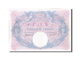 [#204632] 50 Francs Type Bleu Et Rose, 6 Avril 1915, Fayette 14.28 - 1871-1952 Anciens Francs Circulés Au XXème