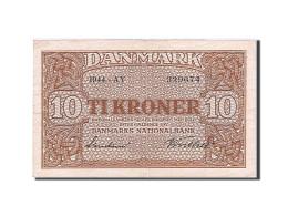 [#256735] Danemark, 10 Kroner, Type 1944-1946 - Danemark