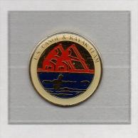 Pin´s  Bateau, Sport  U.S  CANOE & KAYAK  TEAM  Verso  BY  PETER  DAVID .  INC . - Canoa