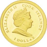 Iles Cook, Elisabeth II, 1 Dollar Or 2009, KM 706 - Cook