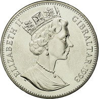 Monnaie, Gibraltar, Elizabeth II, 2.8 Ecus, 1993, SPL, Copper-nickel, KM:478 - Gibraltar