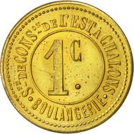 Châlons-sur-Marne, Société De Consommation, 1 Centime, Elie 30.1 - Monétaires / De Nécessité