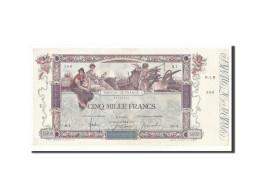 France, 5000 Francs Flameng 1918, TTB+, Pick 76, Fayette 43.1 - 1871-1952 Antichi Franchi Circolanti Nel XX Secolo