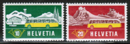 CH 1953 MI 586-87   ** - Zwitserland