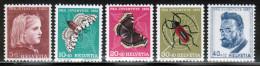 CH 1953 MI 588-92   ** - Switzerland