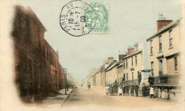POST CARD SCOTISH HIGH STREET SANQUHAR 1908