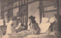 Westmalle, Sanatorium Lizzie Marsily, H.M. De Koningin Spreekt Met De Zieken17523) - Malle