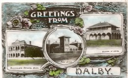 POST CARD AUSTRIALIA GREETING FROM DALBY - Australië