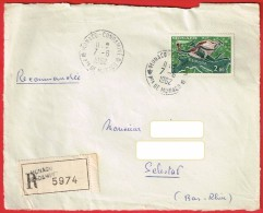 Recommandé Monaco Condamine Pte De Monaco 7.6.1962 T.Europa Devant De Lettre - Monaco