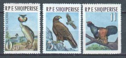 Albania 1963 Mi 741-742-744 MNH BIRDS - Albania