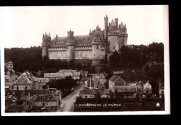 60 PIERREFONDS Chateau, Style Carte Photo, Ed Etoile 1, 190? - Pierrefonds