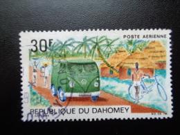 Dahomey 1968 Poste Aérienne N°PA85 Oblitéré Poste Automobile Rurale - Benin – Dahomey (1960-...)