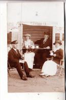 PHOTO - Strandleben, Strandkorb , Verleih M.Ohlsen, 1913 - Fotografie