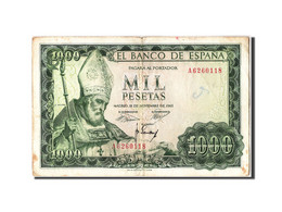[#304992] Espagne, 1000 Pesetas Type Isidoro - [ 3] 1936-1975: Regime Van Franco