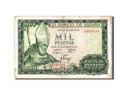 [#304992] Espagne, 1000 Pesetas Type Isidoro - [ 3] 1936-1975 : Régence De Franco