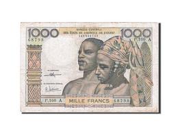 [#257864] Afrique De L'Ouest, 1000 Francs, Type 1959-1965 - Banconote