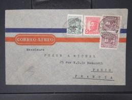 URUGUAY- Enveloppe  Pour La France  AFF Plaisant  1947    P4361 - Uruguay