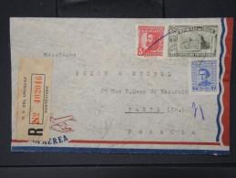 URUGUAY- Enveloppe En Recommandée Pour La France  AFF Plaisant     P4362 - Uruguay