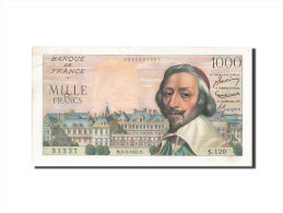 [#205211] 1000 Francs Type Richelieu, 03 Mars 1955, Fayette 42.11 - 1871-1952 Circulated During XXth