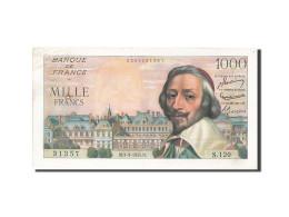 [#205211] 1000 Francs Type Richelieu, 03 Mars 1955, Fayette 42.11 - 1871-1952 Anciens Francs Circulés Au XXème