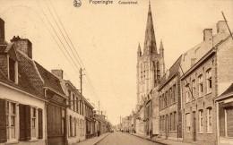 Poperinge Casselstraat   Verstuurd  1928  zegel en stempel