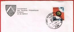 Rastatt Im Dienste Europas Philatélie Au Service De L´Europe 30.3.68 T.Europa - [7] Repubblica Federale