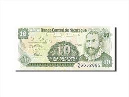 [#255869] Nicaragua, 10 Centavos, Type F. H. De Cordoba - Nicaragua