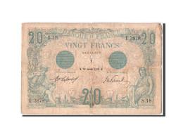 20 Francs Bleu Type 1905 - 1871-1952 Gedurende De XXste In Omloop
