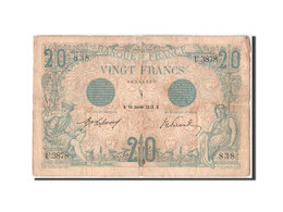 20 Francs Bleu Type 1905 - 1871-1952 Anciens Francs Circulés Au XXème