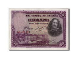 [#306722] Espagne, 50 Pesetas Type Diego Velazquez - 50 Pesetas