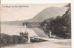 KILLARNEY TORC MOUNTAIN FROM DINIS ISLAND 1909 - Kerry