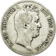 Monnaie, France, Louis-Philippe, 5 Francs, 1831, Paris, TB+, Argent, KM:735.1 - France