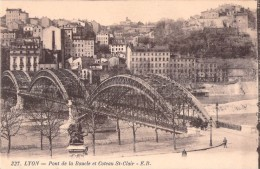 69 LYON PONT DE LA BOUCLE ET COTEAU SAINT CLAIR - Lyon