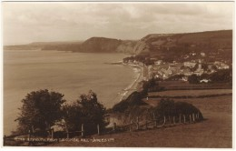 Sidmouth From Salcombe Hill Real Photo - Judges Unused - England