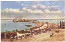 The Pier, Southampton - 1904 - Tuck's 'Oilette' - Southampton