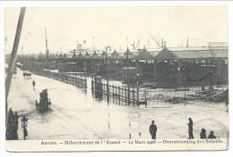 CPA - ANVERS - ANTWERPEN - Débordement De L'Escaut - 12 Mars 1906 - Overstrooming Der Schelde - Inondation   // - Antwerpen