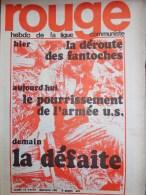 HEBDOMADAIRE LIGUE COMMUNISTE - ROUGE- N� 109- LUNDI 12 AVRIL 1971-