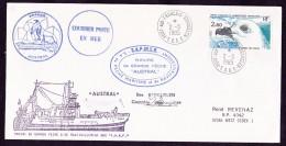 Lettre Terres Australes Et Antarctiques Françaises - Tierras Australes Y Antárticas Francesas (TAAF)