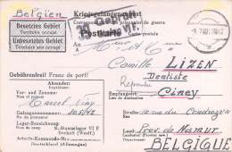 Stalag VI F  Germany WWII POW FREE SHIPPING Camp Prisoner Of War Censor Censorship Censuur Geprüft KRIEGSGEFANGENENPOST - Allemagne