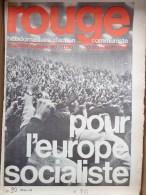 HEBDOMADAIRE ACTION  COMMUNISTE - ROUGE- N� 90- 30 NOVEMBRE 1970- POUR L� EUROPE SOCIALISTE