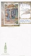 MENU/PUBLICITE/Saint-Galmier Source Badoit/ JAPON/Salutations Japonaises/ Réf:C2938 - Menus
