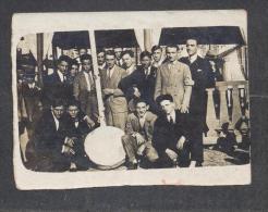 "6674-CANDIA LOMELLINA(PAVIA)-GRUPPO DEI ""CAJULAT CLUB""-1926-FOTO - Anonymous Persons"