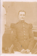 Tirage à Partir D'une Plaque En Verre  D'une  Photo De Militaire En Tenue, Corps De La Musique, 82ème    (45.62) - Guerre, Militaire