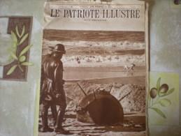 Le Patriote Illustré (G), 1/10/1939, Des Mines Sur La Côte Belge - Bücher, Zeitschriften, Comics