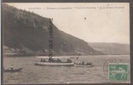 01 - NANTUA--Bayeau Automobile--'Ville De Nantua ' Et Le Grand Rocher--animé - Nantua