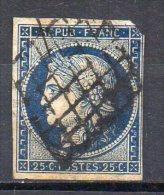 France  N° 4 Oblitérés   Départ à 6,00 Euros !! - 1849-1850 Ceres