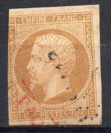 France  N° 13A  Oblitérés  Paquebot Rouge  Départ à  6,00 Euros !! - 1853-1860 Napoleon III