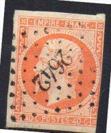 France  N° 16  PC 2642  Départ à  6,00 Euros !! - 1853-1860 Napoleon III