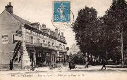 MONTARGIS  -  Rue De Paris  -  Hôtel De La Gare - Montargis