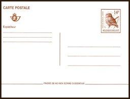 Entier Postal  Buzin  Chouette 14Fr ** Neuf - 1985-.. Birds (Buzin)